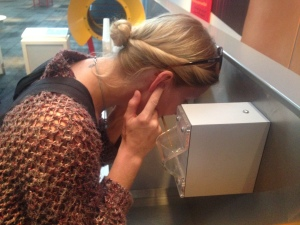 Sound experiments at The Science Museum, London